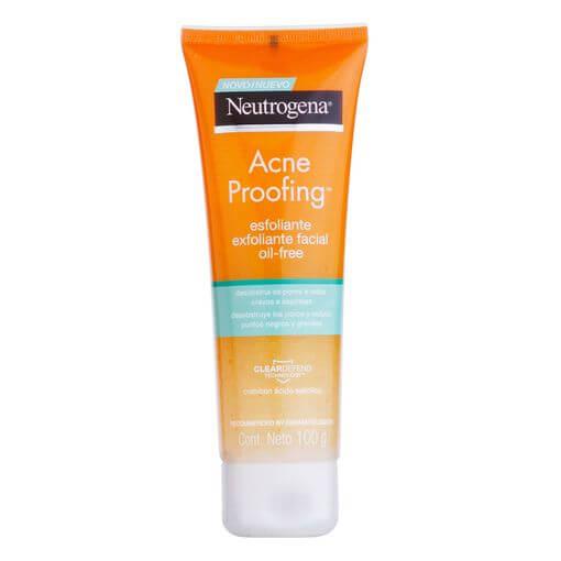 Esfoliante Facial Para Pele Oleosa e Com Acne: Neutrogena Acne Proofing