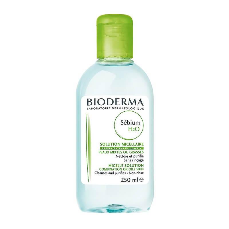 demaquilante bioderma para pele oleosa sebium h20