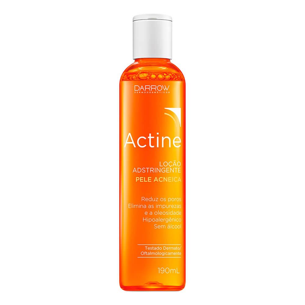 adstringente actine para pele oleosa e com acne