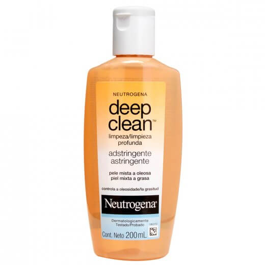 adstringente para pele oleosa da neutrogena