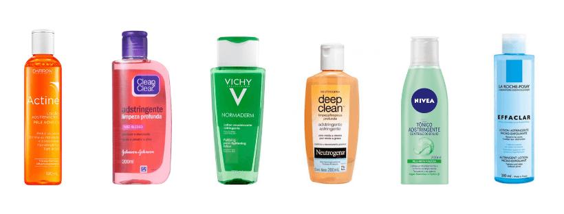 os melhores adstringentes para pele oleosa
