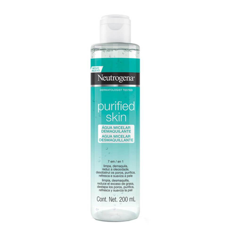 agua micelar pele oleosa neutrogena