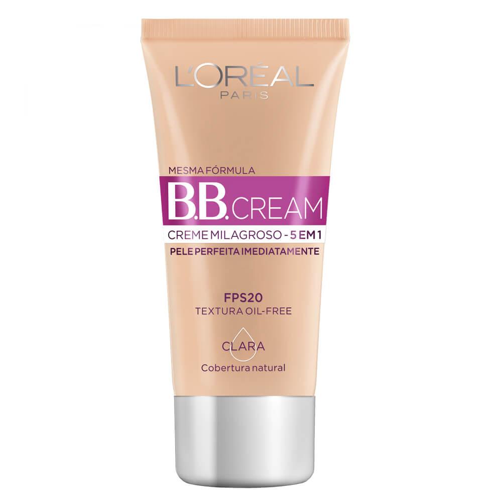 bb cream loreal pele oleosa