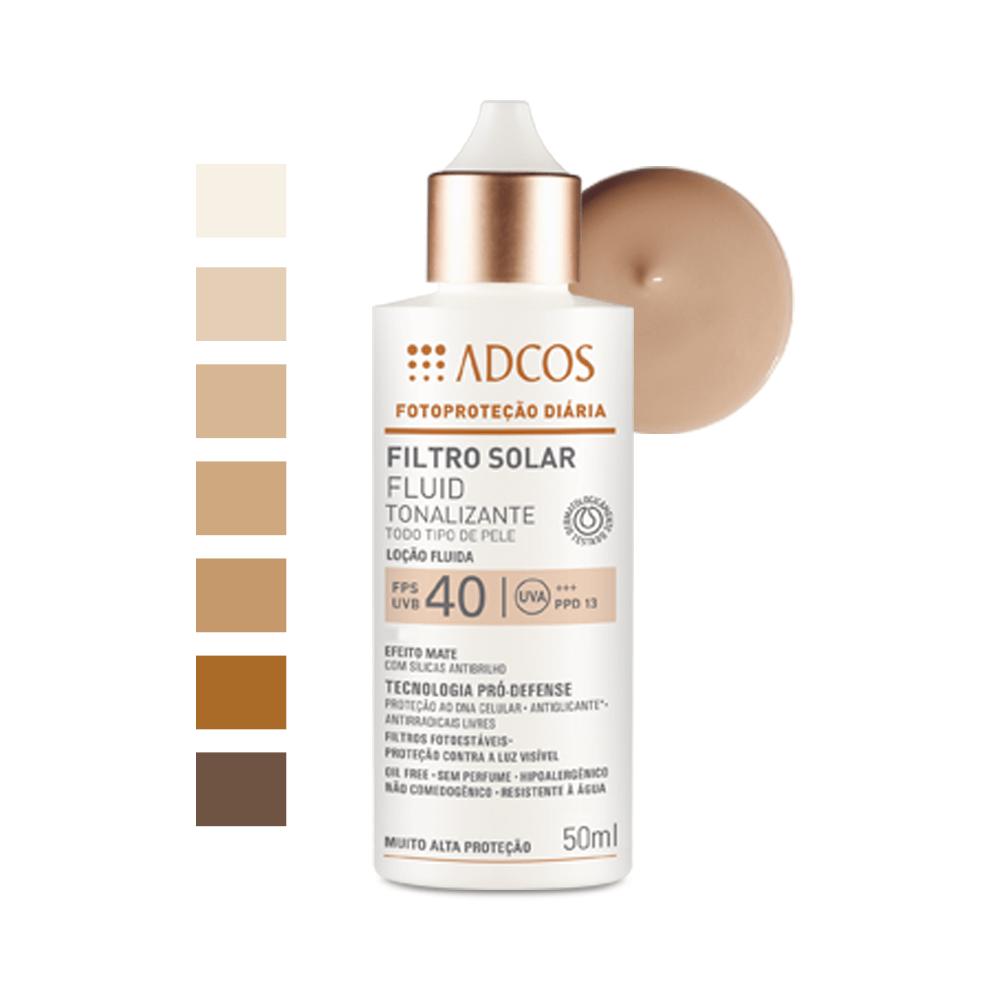 protetor solar com cor para pele oleosada adcos