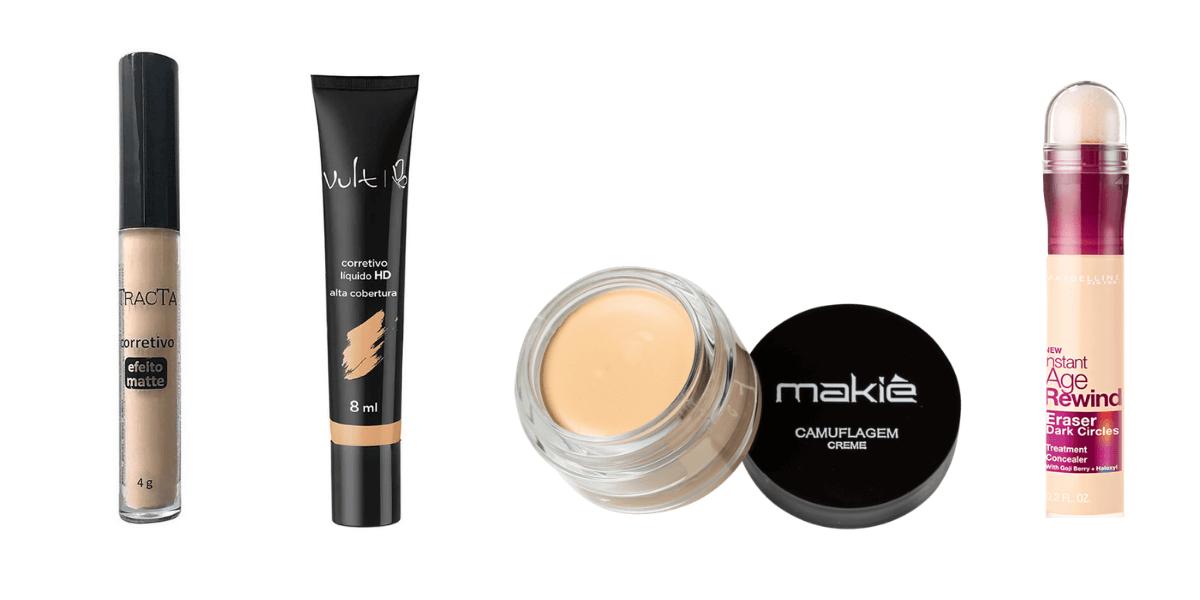 os melhores corretivos para pele oleosa
