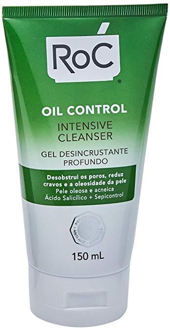 gel de limpeza para pele oleosa roc