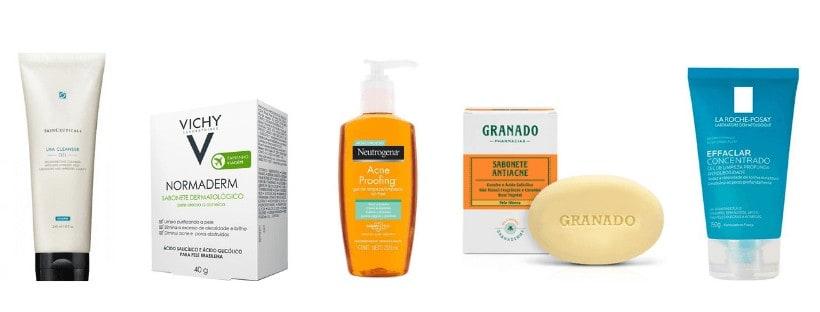 melhor sabonete para acne