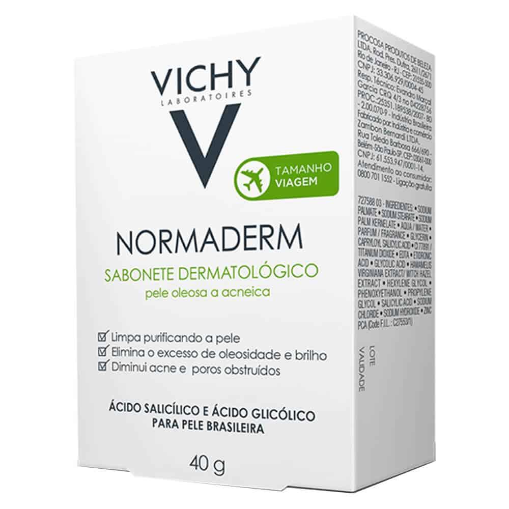 sabonete para acne vichy