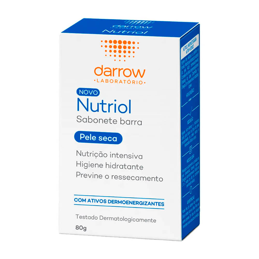 sabonete facial para pele seca darrow nutriol